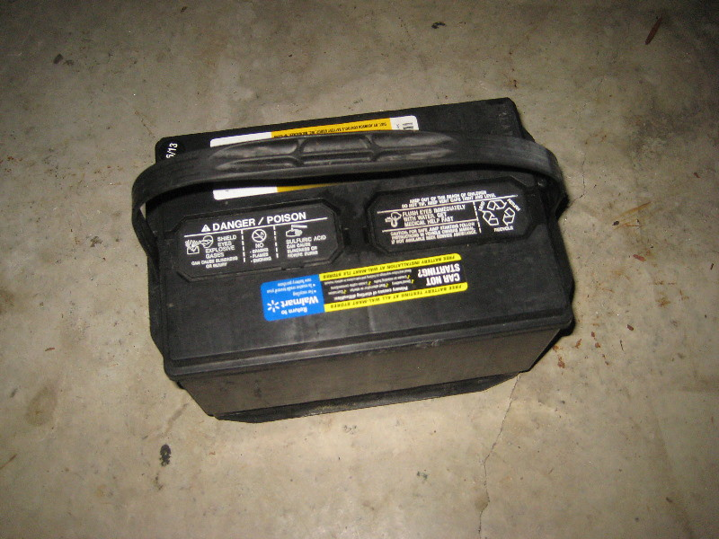 Remove Car Battery Tahoe
