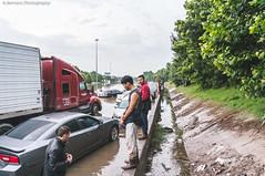 #HoustonFlood 05-26-2015 | 015 (@iseenit_RubenS | R.Serrano Photography) Tags: news cars weather texas underwater flood main north houston 45 freeway floods houstontx 2015 houstonflood texasfloods texasflood