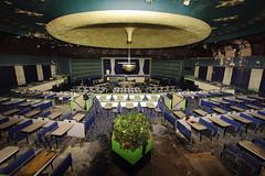 Southport Bingo Hall 2015 (scrappy nw) Tags: southport merseyside grand gala abandonedscrappynwscrappyderelictdecayforgottencanoncanon600dcinemaurbexueurbanexplorationurbanexploringbingobingohalldomelightpainting