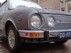 1978 koda 110R Coupe (Skitmeister) Tags: auto show holland classic netherlands car vintage automobile czech meeting voiture oldtimer treffen skoda niederlande classique klassiker pkw  klassieker  koda carspot skitmeister dg97yn