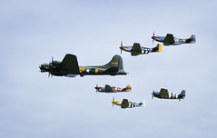 Duxford VE Day airshow (danjama) Tags: day anniversary ve formation airshow b17 duxford corsair spitfire boeing warbirds 70th 2015 sallyb vaught