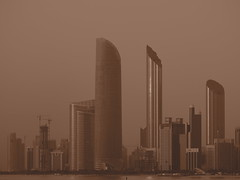 Skyline, Abu Dhabi!