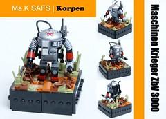 Ma.K SAFS Korpen (SweStar) Tags: lego 3000 mak krieger moc maschinen korpen zbv