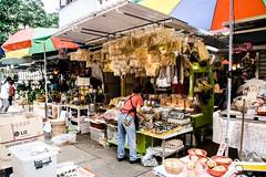 Market Stall, Kam Wa Market, Hong Kong (Kris McNeil) Tags: china shop shopping market outdoor stall goods hong kong dried seller 2016