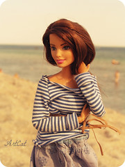 Jecca (ArtCat80) Tags: sea summer black doll barbie move made joyce teresa bambi artcat