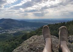 """View from the """"Battert"""" rocks in Baden-Baden (Adrian Willems) Tags: sky clouds landscape foot rocks outdoor himmel wolken badenbaden landschaft schwarzwald blackforest felsen battert fse"""