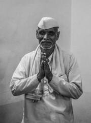 The Devotee! (Ritam Talukdar) Tags: blackandwhite bnw festival maharashtra photojournalism photoworks project portrait devotion faith journey yatra bnwmagazine