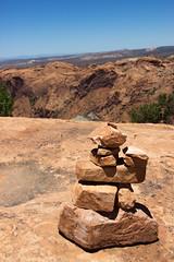 (Molly Sanborn) Tags: canyonlands national park nps utah nature travel summer stone cairn trail hiking