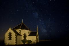 La voie lacte /  The Milky Way (http://www.jeromlphotos.fr) Tags: light night canon stars eos lumire bretagne chapel breizh nuit morbihan chapelle 56 toiles britany 1740f4 sarzeau themilkyway 5dmarkii lavoielacte