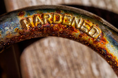 """HARDENED"" (-Mark Bean-) Tags: door red macro abandoned field metal rainbow rust gate colours lock decay steel pad rusty security bolt oxidation secure rusting discarded padlock depth corrosion decaying corroded latch bolted shackle shank corrode oxidised ruddy pitted degradation degraded"
