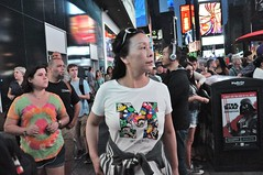 Times Square mid July (zaxouzo) Tags: nyc people night candid crowd july timessquare 42ndstreet 2016 nikond90