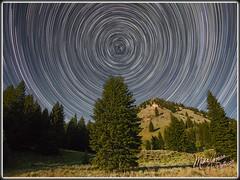 Bullseye! (MikeJonesPhoto) Tags: star trails ketchum 0359 716