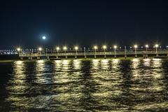 Muelle (josmarallanos) Tags: muelle river water people night posadas misiones argentina dock ro paran moon lights