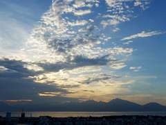 Final burst (Roving I) Tags: sea sky sunsets nature cloud bays hills peninsulas danang vietnam