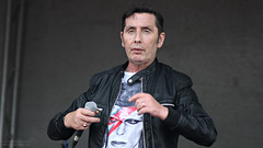 Christy Dignam of Aslan at Ardmore Pattern Festival 2016