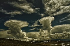 Wolken in Jotunheimen (efgepe) Tags: 2016 skandinavien wolken clouds jotunheimen norwegen noreg norge norway colorefexpro lightroom nik