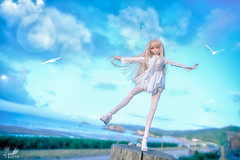Flying with the wind () Tags: heero shanghai doll dollfie dream bjd volks dd japanese toy action figure shokuhou misaki queen nikon d810