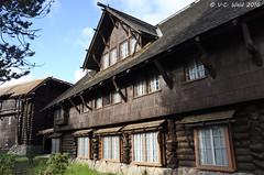 Exterior details, Old Faithful Inn (V. C. Wald) Tags: yellowstonenationalpark oldfaithfulinn nationalregisterofhistoricplaces uppergeyserbasin parkitecture robertreamer
