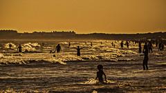 Time spectra (Life in the sea) (Ignacio M. Jimnez) Tags: sea summer people espaa beach water mar spain agua gente huelva playa andalucia verano andalusia puntaumbria espectros