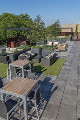 Bradley Low-Res2 (Chicago Roof Deck and Garden) Tags: pergola concrete porcelain roof deck chicagoroofdeck design landscape city landscapes roofdecks chicago outdoor spaces outdoorliving furniture synlawn ravenswood rooftop garden