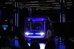 Future Bus 'out of the blue' (Maurits van den Toorn) Tags: bus autobus omnibus daimler mercedes blauw blue bleu concept presentation halfweg futurebus