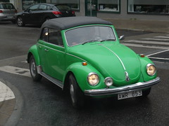 Volkswagen Beetle Cabrio (Rorymacve Part II) Tags: car cars automobile auto bus truck motor motorvehicle saloon estate compact sports roadster transport road heritage historic chevrolet chevroletsilverado opel opelcorsa volkswagen volkswagenbeetle volkswagentype2