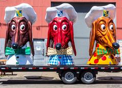 Doggie Diner Dachsunds (_ Ivor_) Tags: d7200 nikond7200 18300 18300mmf3556 sanfrancisco doggiediner california sign