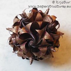 k16021a (Origami Spirals) Tags: origami paper curler twirl twirligami