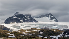 Smrstabbrean Glacier (MC-80) Tags: smrstabbrean glacier jotunheimen norway sognefjellet sognefjellsveien sogn og fjordane luster bverdalen norwegen sunset light sonnenuntergang bverbrean
