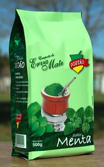 Composto de Erva-Mate Porto com Menta (Joo Ebone) Tags: composto erva mate ervamate menta mentha hortela verde pacote laminado chimarro yerba yerbamate tea drink mentolado sabor ilex paraguariensis cuia