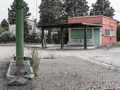 Gasoline 04.07 (Giulio Gigante) Tags: gasoline station ortona italy abruzzo abandoned eccoqua ed ruscha giulio giuliogigantecom allaperto project twentysix landscape paesaggio document documentario documentary colors colori