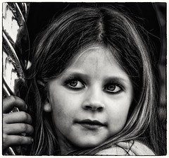 The eyes of a child (Andy J Newman) Tags: candid street blackandwhite bandw bw nikon d500 silverefex eyes