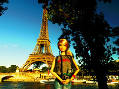 My trip to Paris (imida73) Tags: barbie andy warhol campbells soup alias edie sedgwick paris tour eiffel