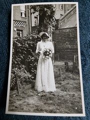 Another old bridesmaid photo 20160705_092346 (tomylees) Tags: bw old photo bridesmaid wedding vinnie 1938