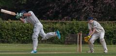 Missed a straight one (Alan-Taylor) Tags: cricket bating wicket keeper olicanians olis calverleystwilford summer