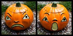 Never Too Early (Jules (Instagram = @photo_vamp)) Tags: goodfind jackolantern halloween cookiejar decoration