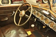 Packards International 53rd Membership Meet (USautos98) Tags: 1938 packard twelve brunn cabriolet interior