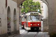 T3R.P 8550 (rengawfalo) Tags: prague prag strasenbahn tram tatra