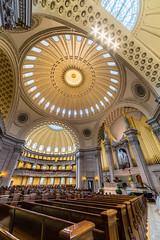 Scientist (Empty Quarter) Tags: sony samyang 14mm f28 a7r christ first church cathedral hdr architecture interior dome organ alter byzantine scientist boston massachusetts
