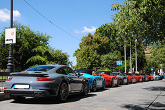 Porsche Tour (MarcoT1) Tags: porsche 911 991 turbo mkii targa 4s carrera s cabriolet 718 boxster hungary budapest nikon d3000