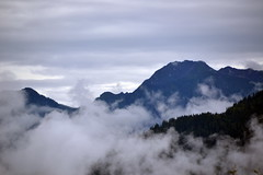 Slovenia (Элвин Ваутерсе) Tags: alps blue cloud clouds d3100 elwinw europa europe mountain mystical nature nikon scenery sky skylinestudio slovenia rain jesenice si nikonflickraward outdoor landscape