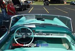 1955 Ford Thunderbird (dfirecop) Tags: dfirecop antique classic historic auto car truck vehicle countryandtown baptist church mechanicsburg pa pennsylvania 1955 ford thunderbird