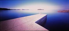 Rovinj, Croatia (matkovsmatko) Tags: pinhole istillshootfilm slide velvia50 rovinj croatia hrvatska more seaside holgawpc longexp color