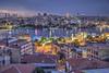 Cuerno de Oro. (GustavoCba) Tags: estambul istambul turquía turkey galata hdr europa eurpe sky skyline water night building golden roof canon
