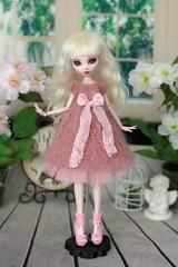 IMG_7619 - 12 (Elena_art) Tags: monsterhigh drakuloura ooak handmade dress knitted etsy
