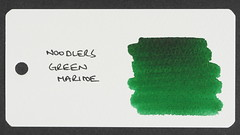 Noodler's Green Marine - Word Card