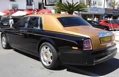 Roller! ('cosmicgirl1960' NEW CANON CAMERA) Tags: travel costa black tree cars sol del puerto gold spain holidays rollsroyce palm espana rolls andalusia goodyear marbella banus yabbadabbadoo