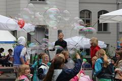 Seifenblasenfabrik Bubblebo Seifenblasenshow beim Tag der offenen Tür im Bundesministerium für Landwirtschaft 1