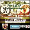 Lokasi Nobar: Nobar @unitedisred1 #Jakarta #Chelsea vs #MUFC Lawson Percetakan Negara