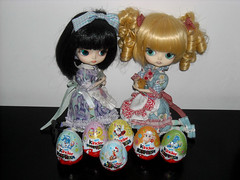 Annie & Candy ~ DSCN96679_Dal_Sooni_Edge_ (applecandy spica) Tags: pink blue red orange cute rabbit bunny green yellow easter doll sheep chocolate country egg duckling lavender dal kinder chick lilac edge surprise loli eggs ladybug pullip custom hen sorpresa ovetto pasqua sooni